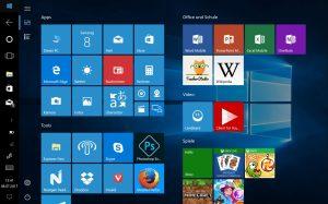 Bilder vom fertigen Tablet mit Windows 10